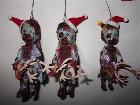 christmas zombie     christmas decoration