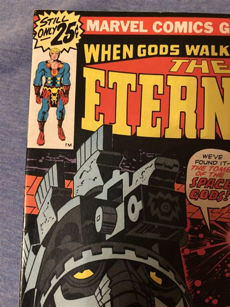PGM Eternals #1 - Comic Book Grading and Restoration ...