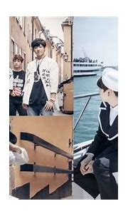 BTS are charming tourists and sailors in B-cut photos from ...