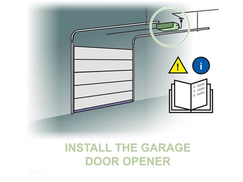 Putting A Door Into A Garage by How To Install An Overhead Garage Door With Pictures