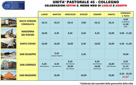 Orari Messe Consolata Torino by Unit 224 Pastorale 45 Collegno