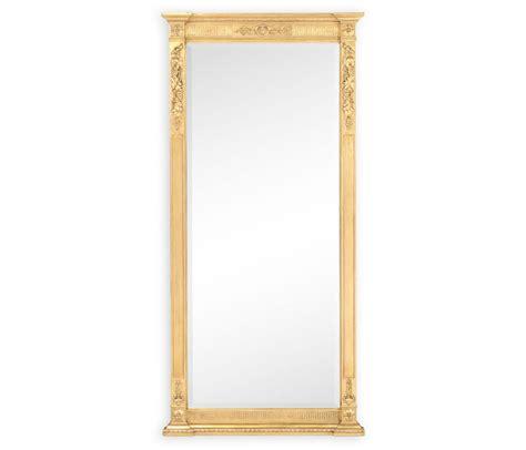 gilded floor mirror empire style gilded floor mirror