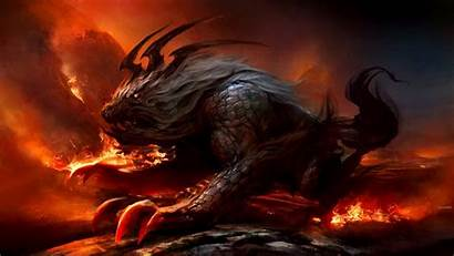 Fantasy Beast Wallpapers Creature Monster Hell Creatures