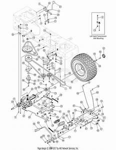 Troy Bilt 13ap60tp766 Horse  2006  Parts Diagram For Drive