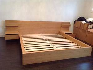 Ikea Malm Queen Platform Bed With Nightstands – Nazarm com
