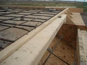Coffrage Terrasse Beton : coffrage d 39 un grand balcon en b ton pour l 39 arri re de votre maison ~ Medecine-chirurgie-esthetiques.com Avis de Voitures