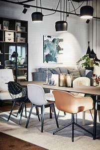 1000 idees a propos de decoration de salle a manger sur With deco cuisine avec chaise salon cuir