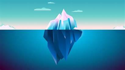 Iceberg Minimalism Minimal Wallpapers Minimalist Resolution 4k