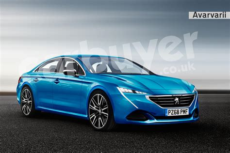 New Peugeot 508 Embraces Coupe Styling