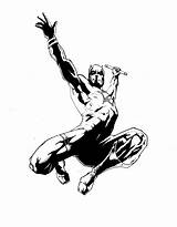 Daredevil Coloring Marvel Comic Inked Drawing Comics Bergman Desmet Ink Resources Screen Popular Coloringhome Sketch Library Clipart Deviantart sketch template