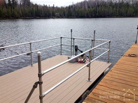 Aluminum Boat Handrails by Pontoon Boat Restoration And Railing Upgrade