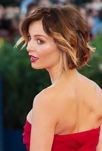 Violante Placido Short Ombre Hair 2014 Ombre Hair Color