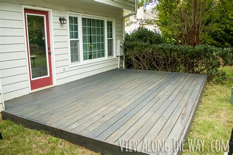 How To Stain New Pressure Treated Wood Deck Stained Cabot