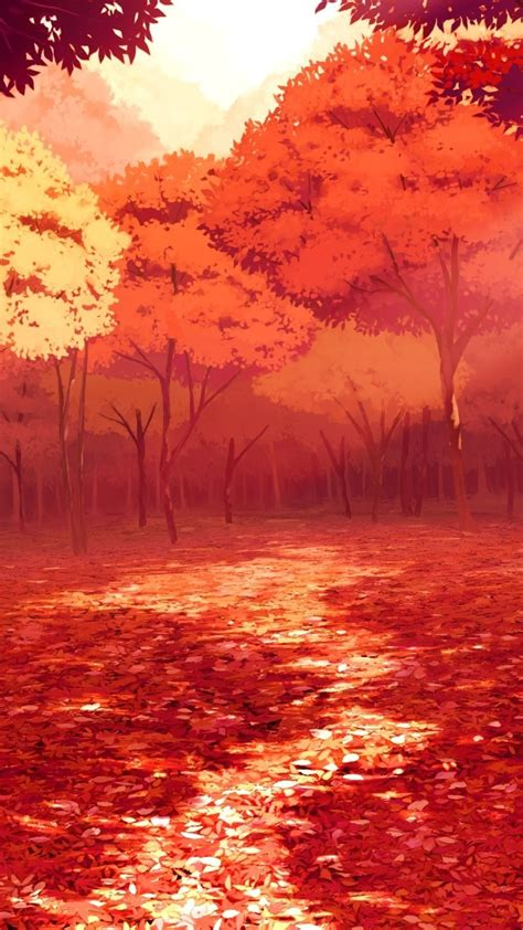 Animated Autumn Wallpaper - animated autumn trees iphone wallpaper iphone wallpapers