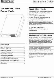 Umupplus User Manual Installation Guide Tyco Safety Products  Sensormatic