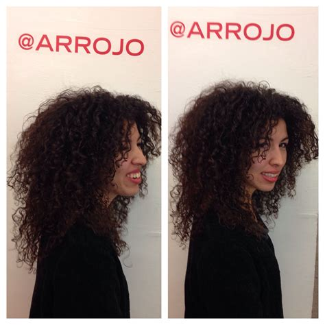 hair styles with fringe textured curly hair layers on curly hair 6111