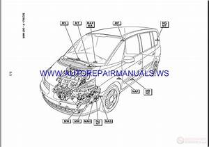 Renault Espace J81 Nt8416 Disk Wiring Diagrams Manual 10