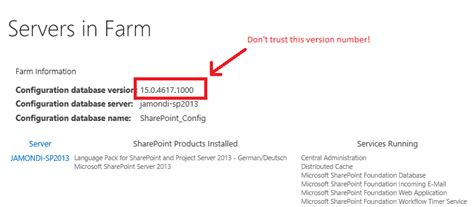 Office Version Numbers by Sharepoint Patching Demystified Stefan Go 223 Ner