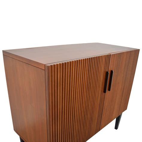 west elm west elm wood bar cabinet storage