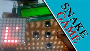 How To Make Snake Game Project Using Arduino