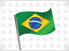 Brazilian flag Royalty Free Vector Clip Art Image #69388