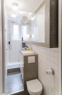 Narrow Bathroom Ideas Pictures by Petite Salle De Bain 34 Photos Id 233 Es Amp Inspirations