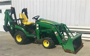 2016 John Deere 1025r Tractor For Sale  221 Hours