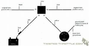 Modern Vespa   Magnum Horn Wiring Diagram