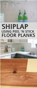Best 25 vinyl tile backsplash ideas on pinterest easy for Best brand of paint for kitchen cabinets with peel n stick wall art