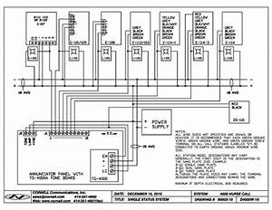 Cornell Nurse Call Wiring Diagram