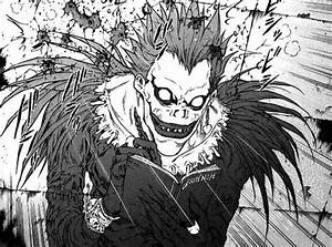 Ryuk betraying and killing Light Yagami. | Death Note ...