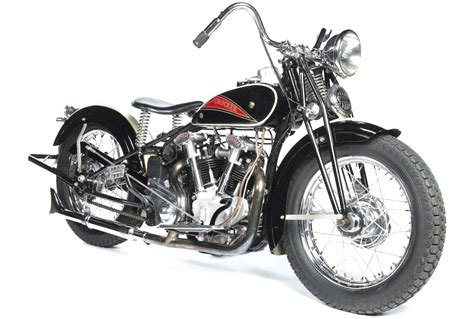 1936 Hemi Head Crocker Motorcycle