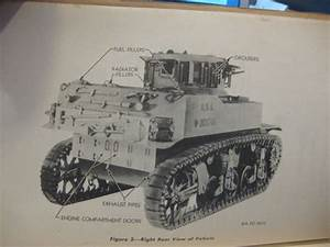 Fs  Original M5 Stuart Tank Manual Sold
