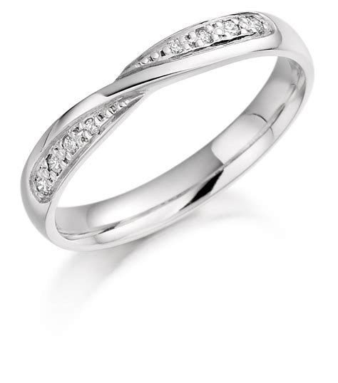 15 Inspirations Of Twisted Diamond Wedding Bands