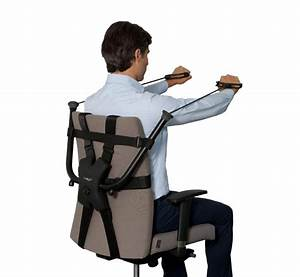 This Workout Device Attaches To Your Work Chair For Exercise At The Office