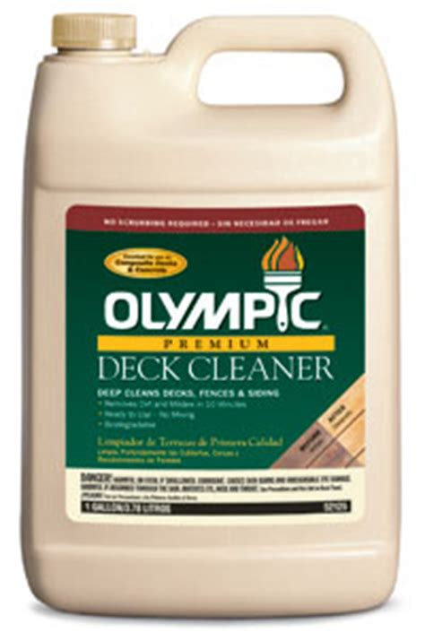 Olympic Deck Cleaner by Wood Preparation And Maintenance Products