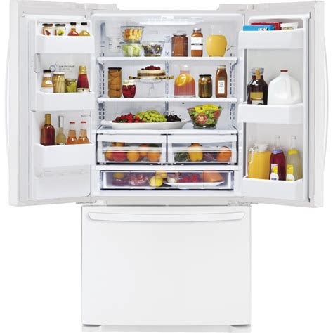 lg lfxsw  cu ft french door refrigerator