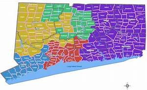 Connecticut Congressional Districts Map: Find any ...