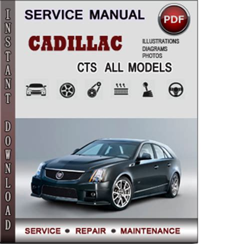 car repair manuals online pdf 2007 cadillac cts cadillac cts service repair manual download info service manuals