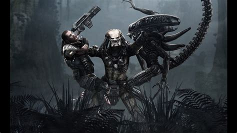 Alien Vs Predator Wallpaper Aliens Vs Predator Marines Walkthrough Complet En Français Hd 1080p 60fps Youtube