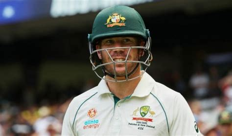 Warner ruled out of Boxing Day Test against India...