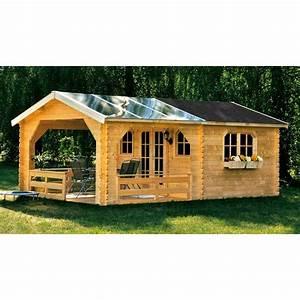 Gartenhaus Mit überdachter Terrasse : skan holz 45 mm gartenhaus holmestrand terrassenhaus 45 mein ~ One.caynefoto.club Haus und Dekorationen