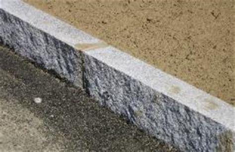 granite curbing and pavers
