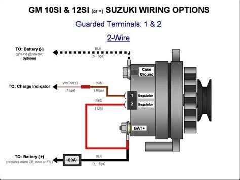 delco remy alternator wiring diagram acdelco alternator