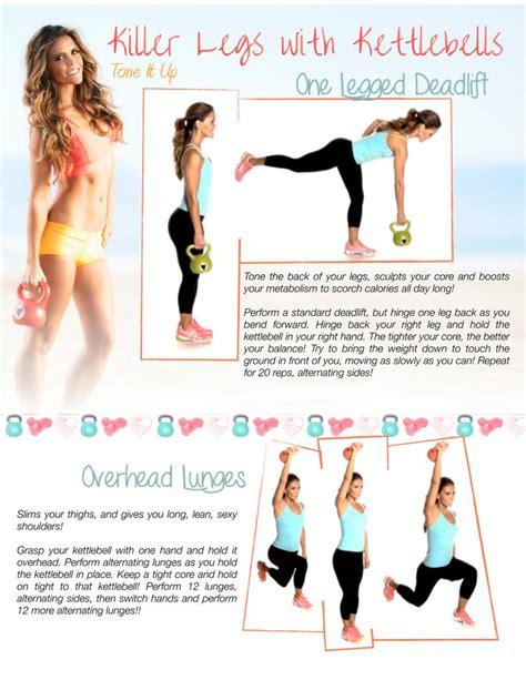 kettlebell workout legs workouts printable killer kettlebells tone leg routines exercises fitness exercise challenge kettle yoga bell tips routine motivation