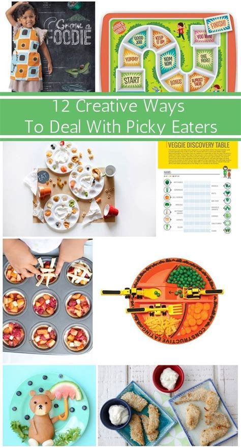 Here are some of their picks, along with several of our favorites! 13 CREATIVE WAYS TO DEAL WITH PICKY EATERS | Fun snacks ...