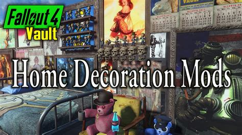 Decorating Magazines Fallout 4 by Fallout 4 Home Decoration Mods