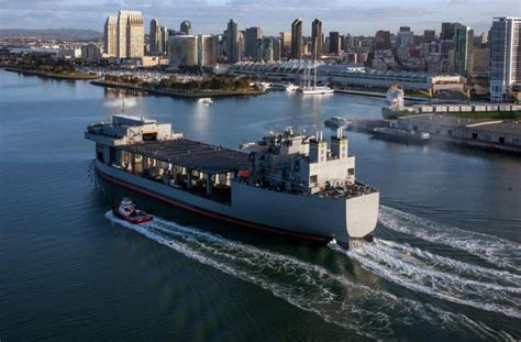 NASSCO gets $324M for work on Expeditionary Sea Base (ESB ...