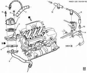 1999 Chevrolet Lumina E G R  Valve  U0026 Related Parts