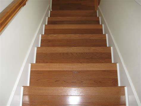 Wood Stair Treads Tips   Latest Door & Stair Design